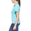 axant Alps - Polo manches courtes femme - turquoise